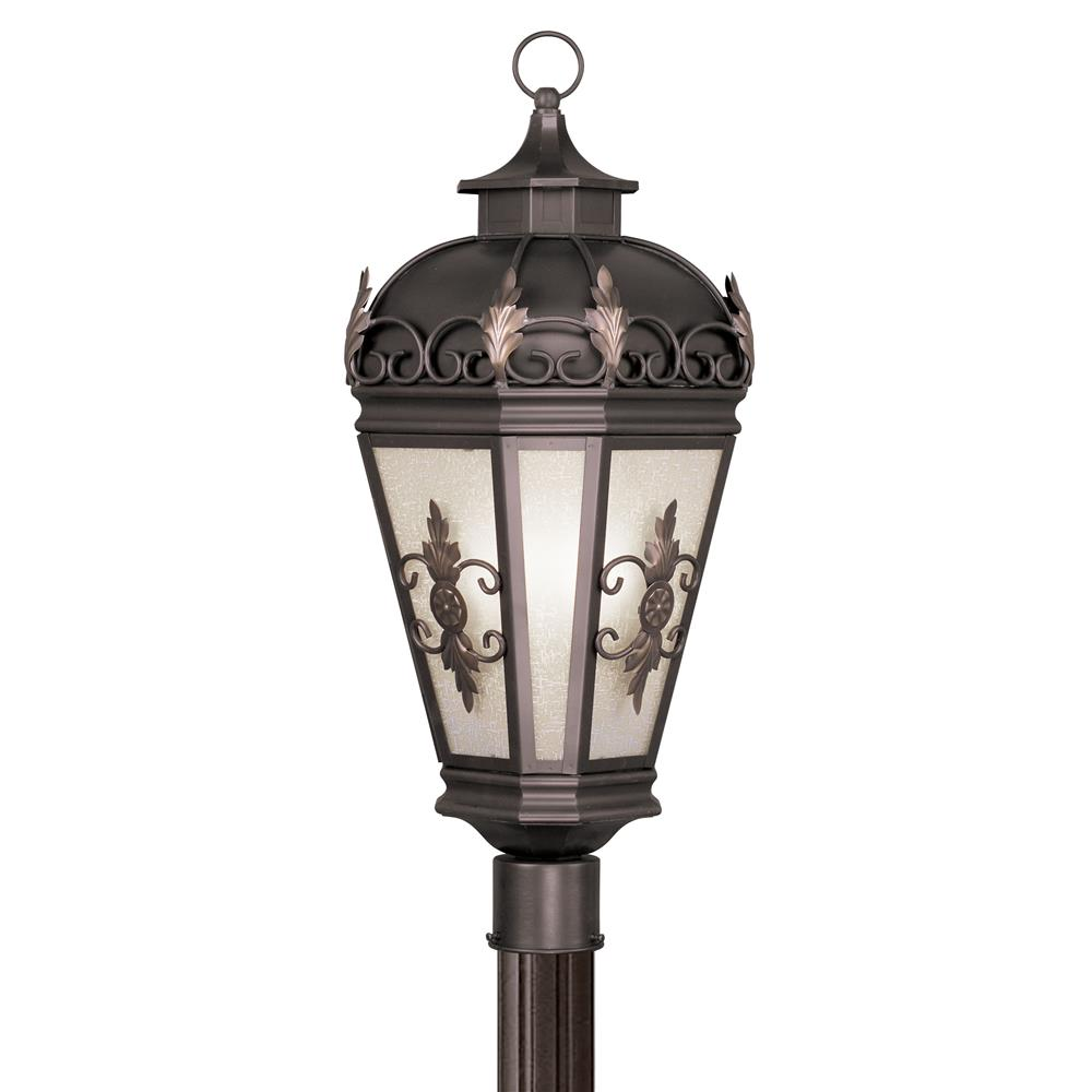 Livex Lighting 2197-07 Berkshire Outdoor Post Head in Bronze